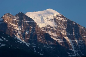 Glacier on top Mt. Temple