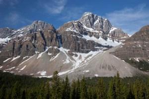 Talus Cones - Banff National Park, Alberta Canada