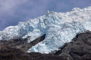 Icefall, Rob Roy, NZ