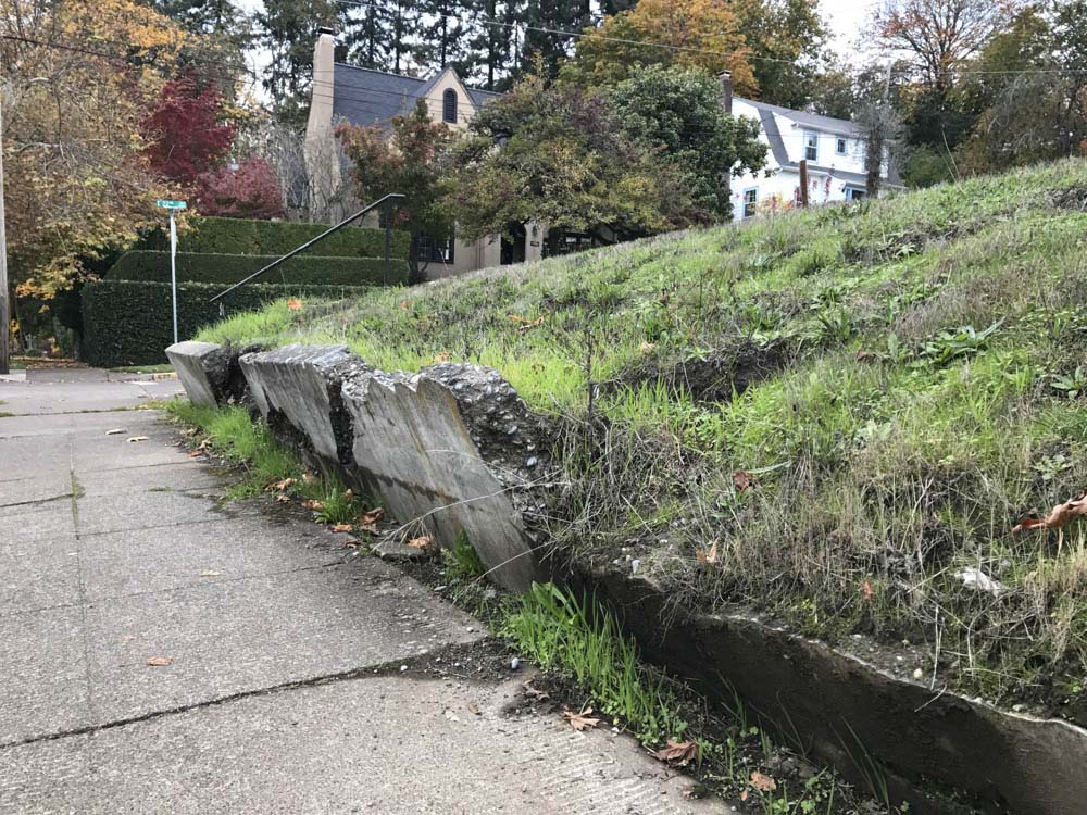 Creep erosion images galleries with a for Soil and geology