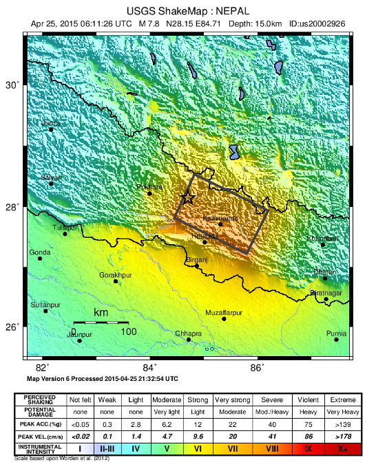 earthquake diagram with labels permanent split capacitor motor wiring 2015 nepal geological society of london blog shakemap version 6