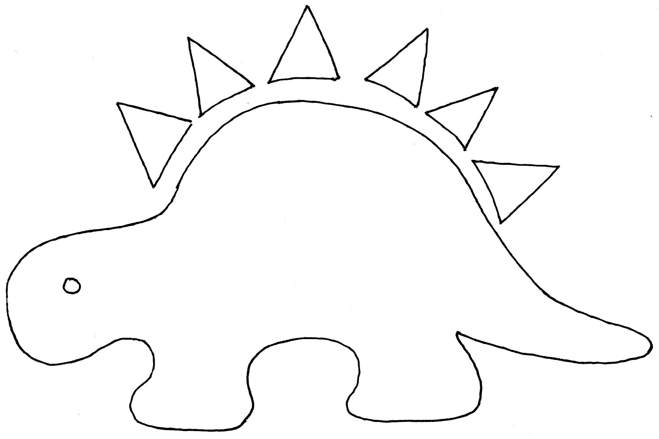 Dinosaur Balloon Cutouts Printable