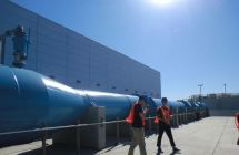 It's a very big and long pipe.