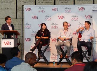 Panel on Diversity in TV writing.