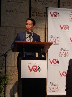 Friday reception at V3Con. Richard Lui. Photo by Laylita Day.