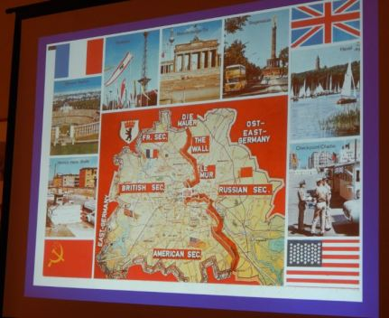 Map featuring German boundaries. Photo by Laylita Day.