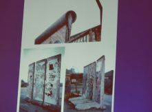 Pieces of the Berlin Wall. Photo by Laylita Day.