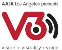 V3Con logo. Image from their website.