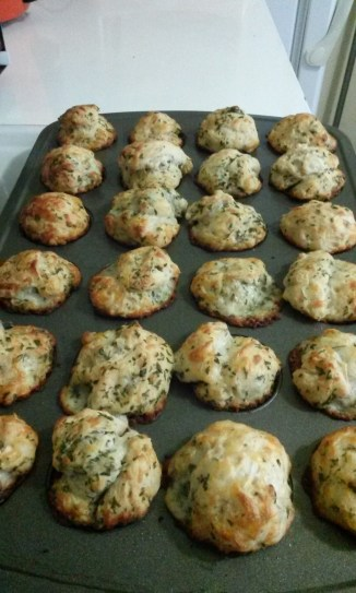 Cheese Herb Muffins. Photo by Laylita Day.