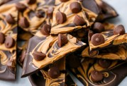 Chocolate and peanut butter bark. Image from Google Images.