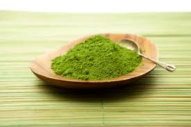 Green tea powder. Image from Google Images.