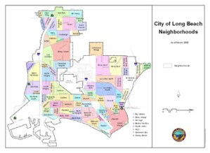 City of Long Beach. Map by the City of Long Beach.