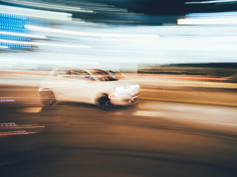 fiat 500 automobile su strada