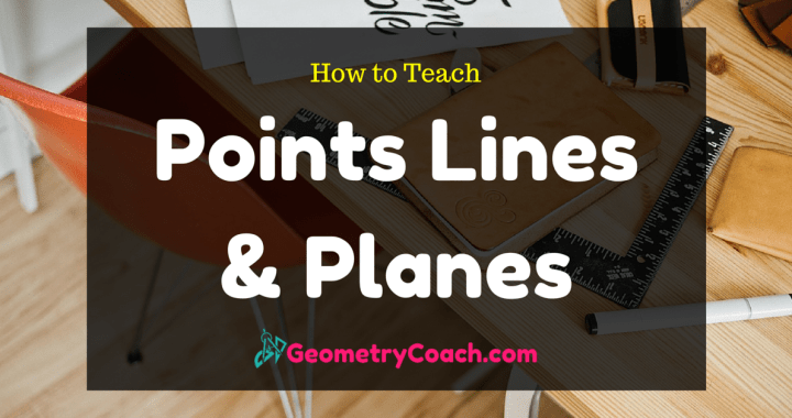 Points Lines and Planes Worksheet