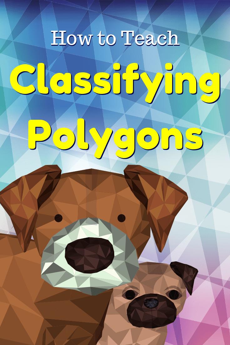 medium resolution of Classifying Polygons Worksheet - GeometryCoach.com