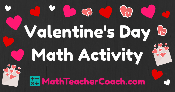 Valentines Day Math Activity Classifying Quadrilaterals