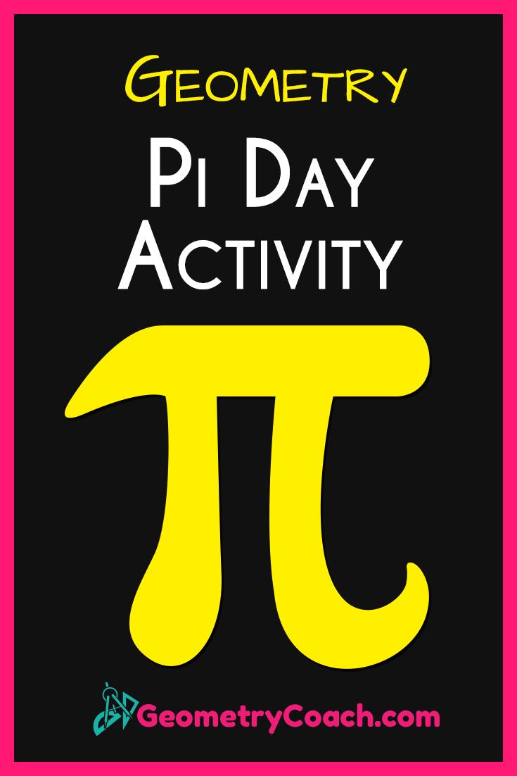 Pi Day Geometry Activity