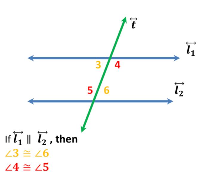 Alternate Interior Angles Problems