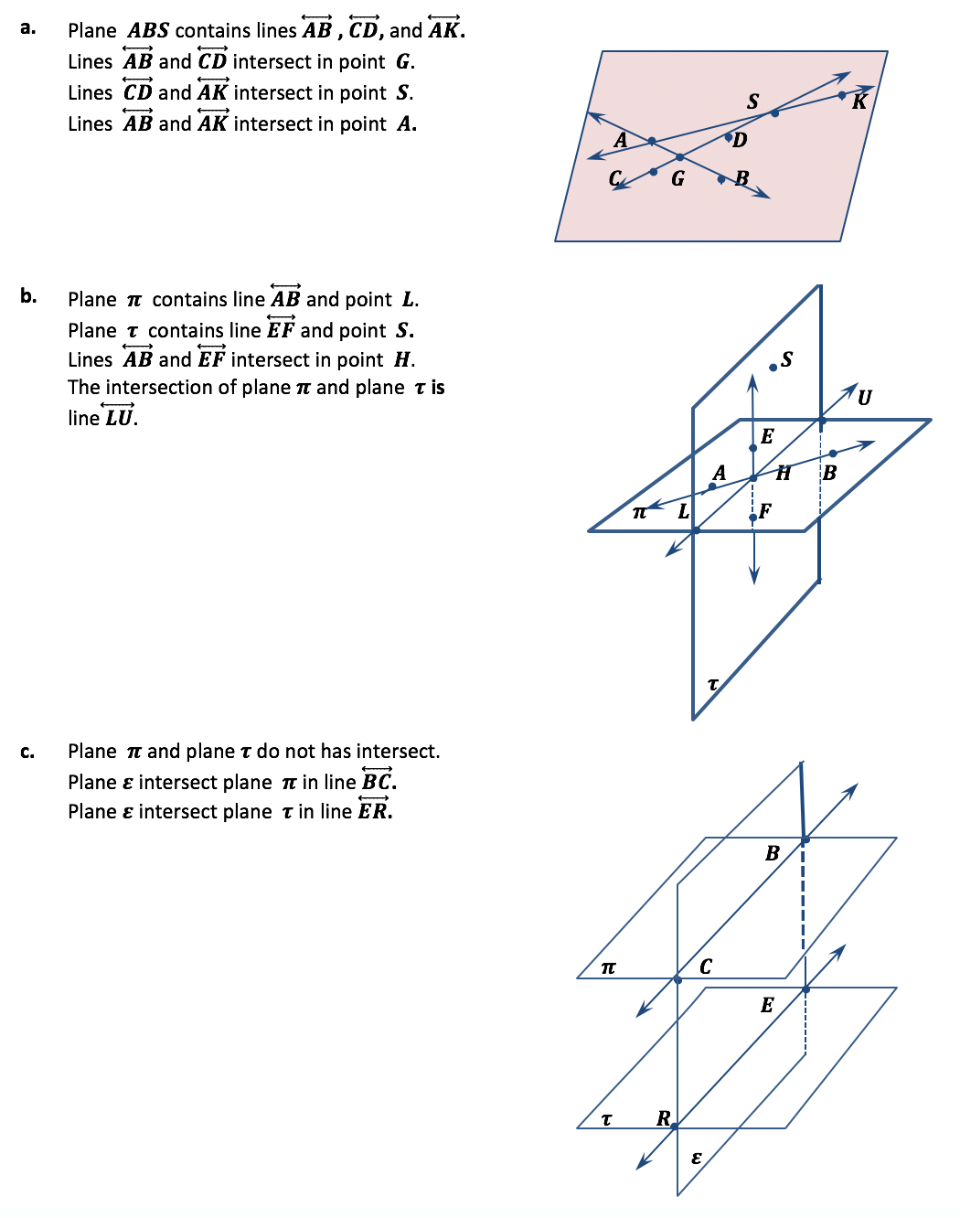 Parallel Lines and Transversals ⋆ GeometryCoach.com [ 1332 x 1050 Pixel ]