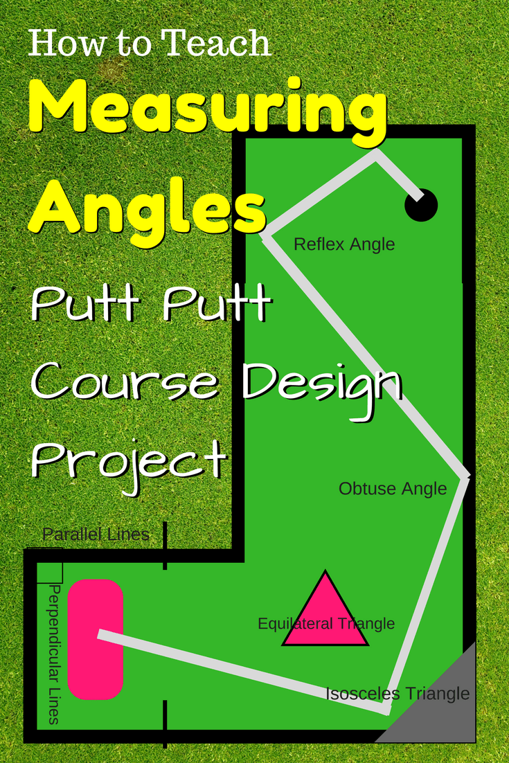 medium resolution of Measuring Angles Putt-Putt Course Design Project ⋆ GeometryCoach.com