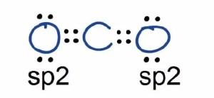 CO2 Hybridization sp2