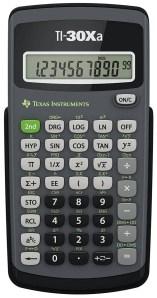 Texas Instruments – TI-30Xa