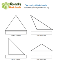 Math Worksheets - Types of Triangles | Geometry Worksheets Org