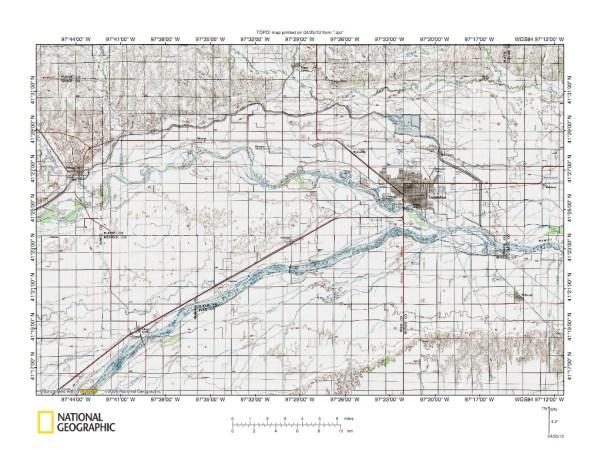 Loup RiverPlatte River drainage divide area landform