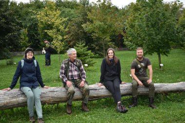Rola martwego drewna w Ogrodzie ;)
