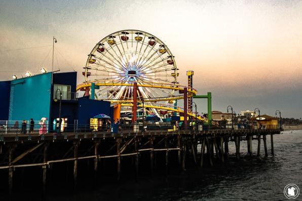 Santa Monica Pier et Pacific Park à Santa Monica