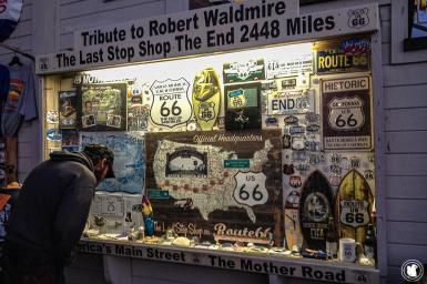 End of Route 66 à Santa Monica