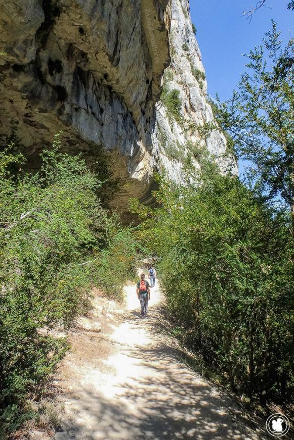 Arpenter le sentier Blanc-Martel dans les Gorges du Verdon