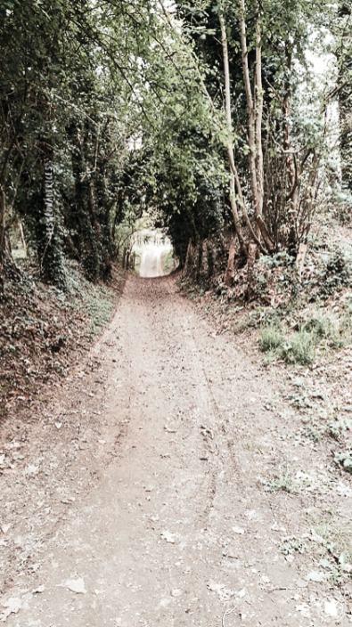 Chemin de randonnée - Dinan, Bretagne