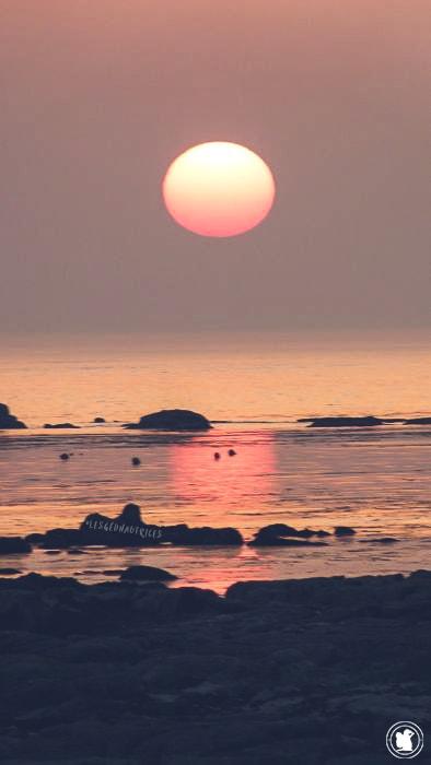 Coucher de soleil, Penmarc'h, Bretagne