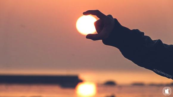 Le soleil au bout des doigts, Penmarc'h, Bretagne