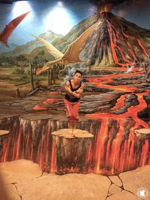 Art in Paradise Volcan, Chiang Mai, Thaïlande