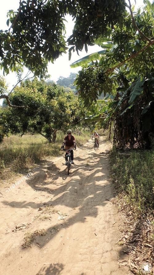 Mountain Biking Doi Suthep, Thaïlande