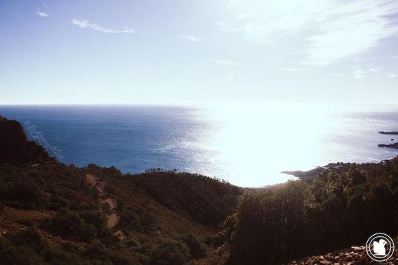 Vue mer - Randonnée Cap Roux, Saint-Raphael