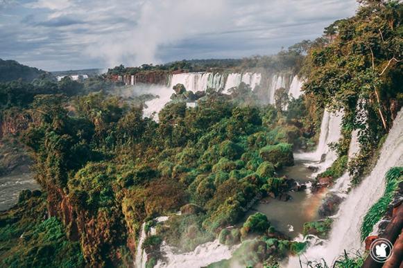 Les magnifiques chutes d'Iguazu en Argentine