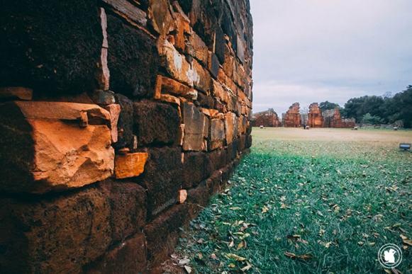 Les ruines jésuites de San Ignacio, Argentine