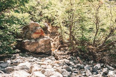 Par ici la montée vers la Laguna Negra