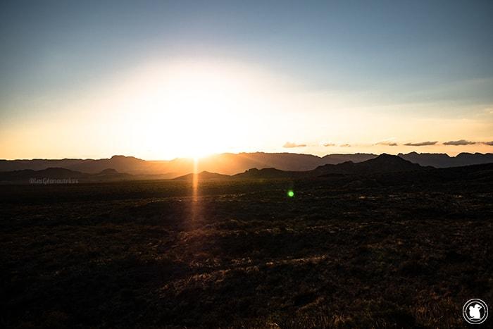 Coucher de soleil à San Rafael