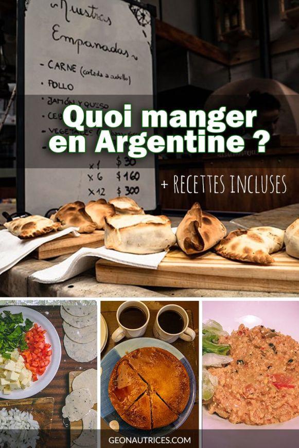 Quoi manger en Argentine ? Quels sont les plats typiques à tester lors d'un séjour dans ce grand pays ? Voici 11 spécialités culinaires argentines que nous avons testé ! En bonus, retrouvez quelques recettes pour les faire chez vous ! #cuisine #culinaire #argentine #recettes