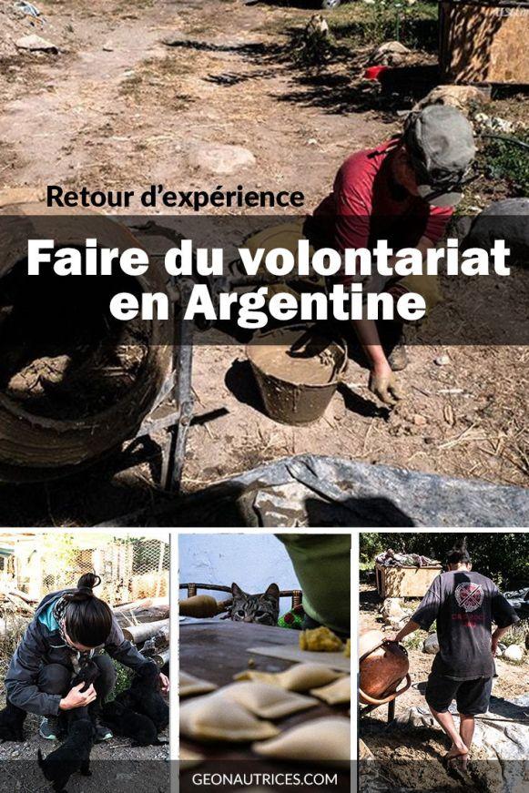 Nous partageons notre retour d'expérience de volontariat en Argentine. Avec 3 volontariats différents à notre actif, ce bilan vous donne une idée de ce que vous pourriez faire en volontariat et des points à faire attention. Que du positif ou presque. Filez lire l'article ! ;) #volontariat #argentine #partage