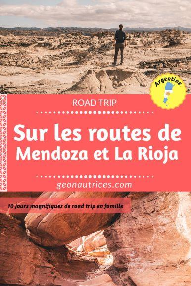 Sur les routes de Mendoza et La Rioja, un road trip en Argentine. Nous vous partageons notre aventure de 10 jours à travers des paysages magnifiques et à couper le souffle ! Itinéraire, hébergements, points d'intérêts, retrouvez tous les détails dans notre article par ici ! #roadtrip #mendoza #argentine #aconcagua #ischigualasto #talampaya
