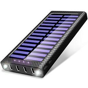 Chargeur solaire portable petit format