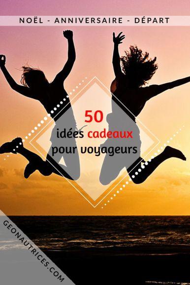 50 idées cadeaux pour voyageurs et baroudeurs ! De l'utile, du gadget, de la déco, de la lecture, il y en a pour tous les goûts et tous les budgets ! Cette liste a été élaborée par et pour des voyageurs ! Soyez assurés de faire plaisir ! #cadeaux #noel #anniversaire #voyageur