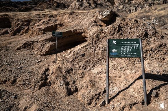 Signalisation dans le Canyon de Colca