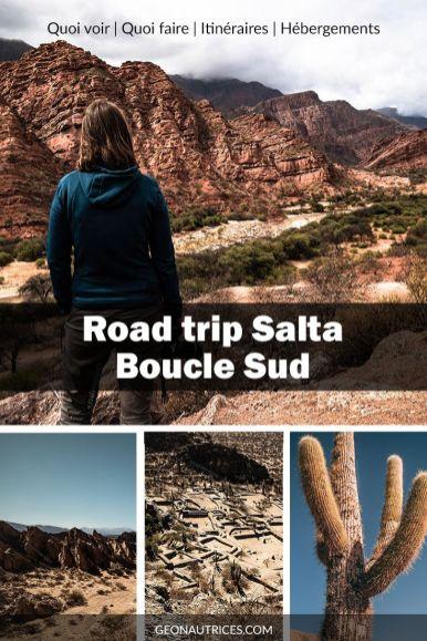 3 jours de road trip dans le sud de Salta, au nord ouest d'Argentine. Nous partageons dans l'article notre itinéraire, nos conseils, ce qu'il faut voir, où dormir, comment s'y prendre. Découvrir la Quebrada de Cafayate, de las Flechas, les ruines de Quilmes, etc. #salta #argentine #noa #roadtrip #voyage