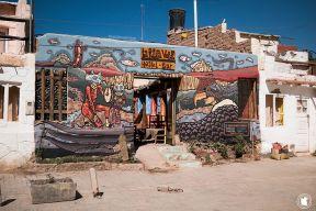 Street art - Hostel à Humahuaca